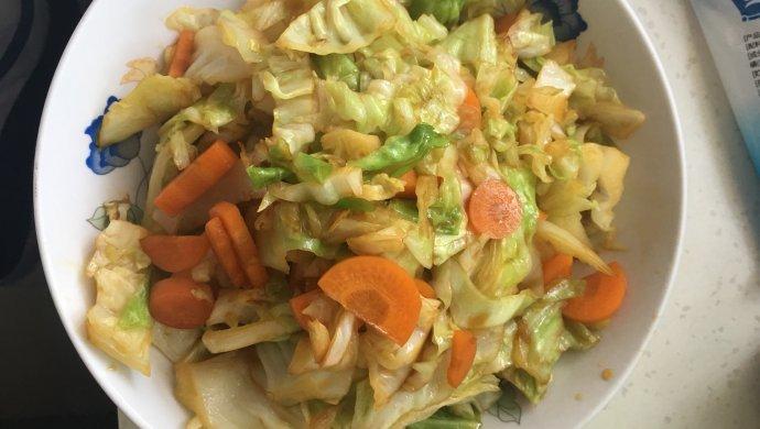 包菜胡萝卜