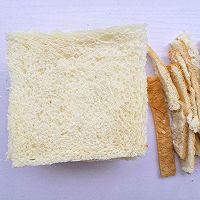 #花10分钟,做一道菜!#好吃到爆的港式西多士的做法图解2