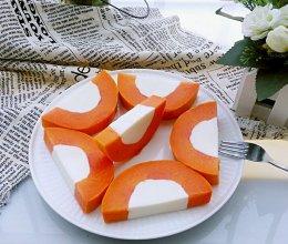 木瓜椰奶冻#魔膳师夏日魔法甜品#的做法
