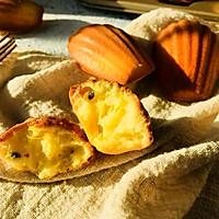 百香果玛德琳#挚爱烘焙·你就是MOF#的做法图解15