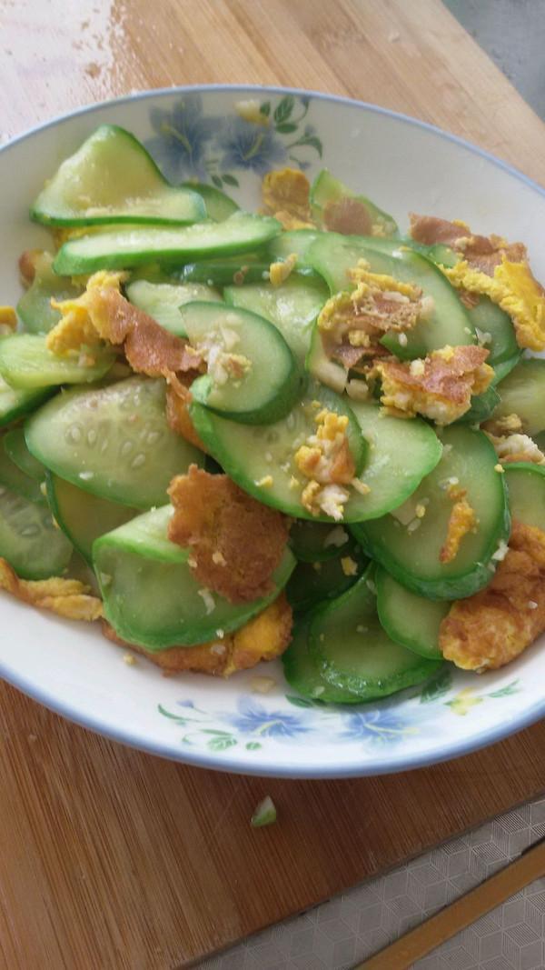 黄瓜炒鸡蛋(哺乳期妈妈版)