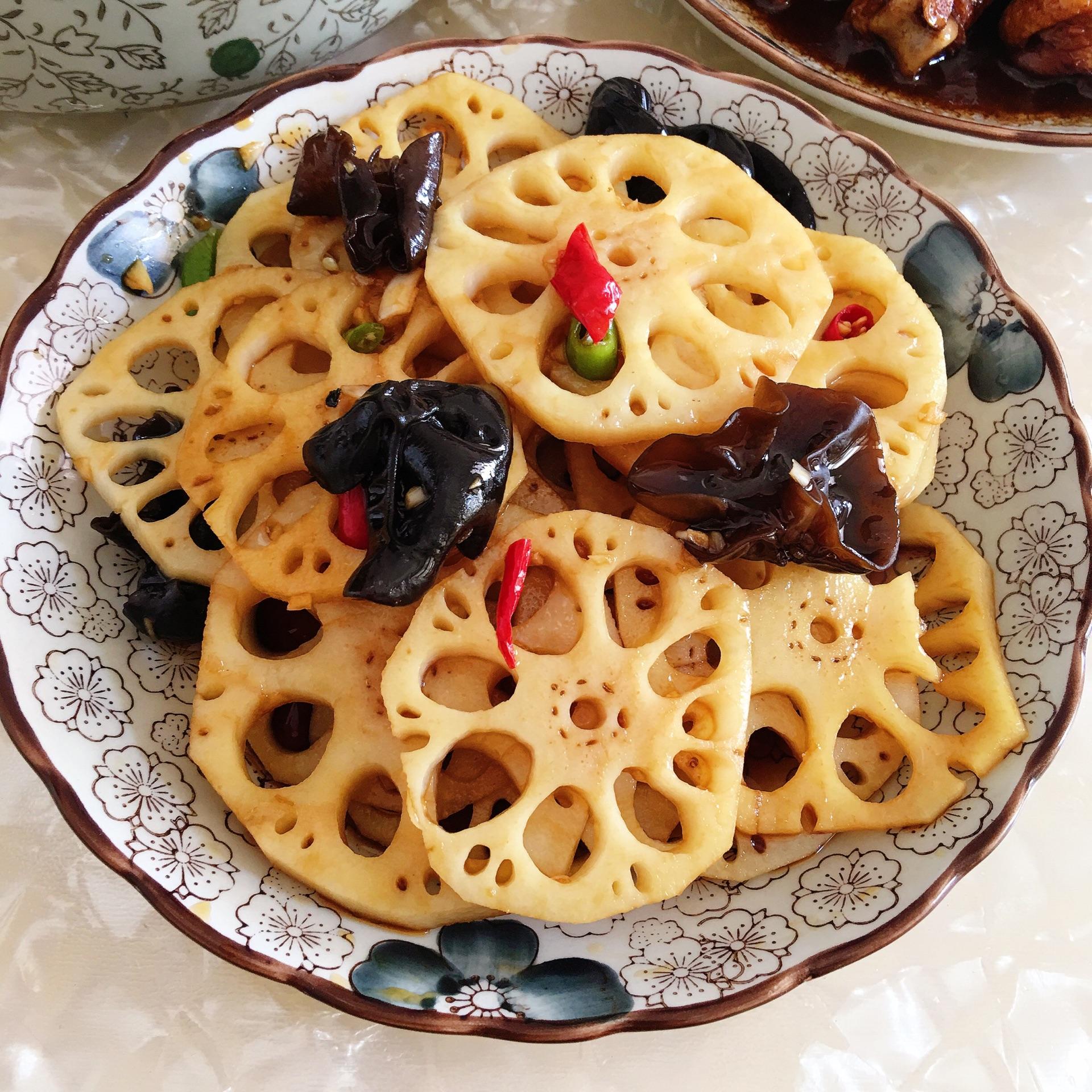 红烧藕片的做法步骤图,红烧藕片怎么做好吃