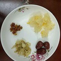 v银耳银耳桃胶月子做法羹的大全_红枣_豆果百合菜谱减肥食谱美食的图片