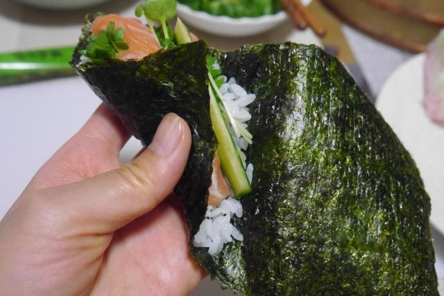 手卷寿司的做法图解6