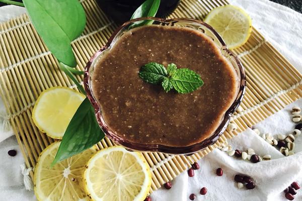 红豆汤薏米糊#单挑夏天#的做法