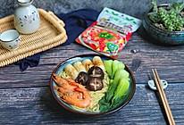 香茅酸汤海鲜面的做法