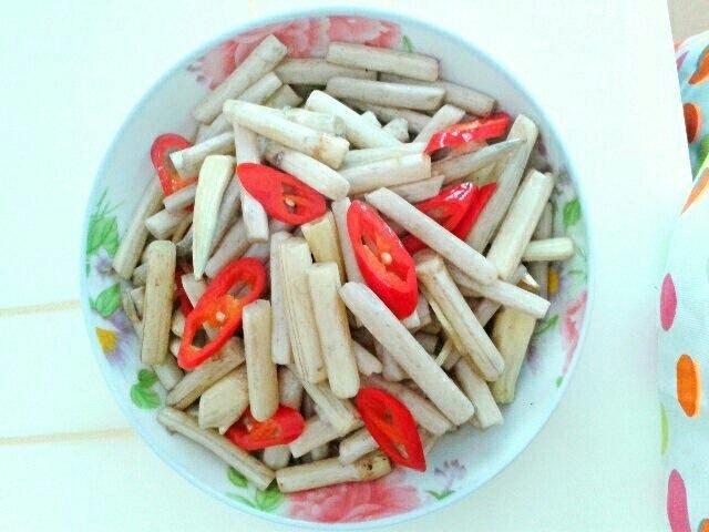 炒藕带的做法_【图解】炒藕带怎么做好吃_滕旦_家常