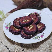 Q弹软糯-口感香甜 紫薯糯米饼