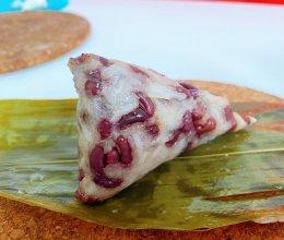 甜蜜蜜……红枣花生蜜豆粽子的做法