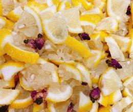 柠檬玫瑰蜜的做法