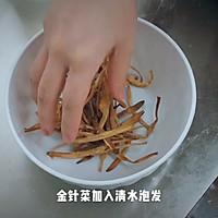 金针菜焖五花肉#硬核菜谱制作人#的做法图解4