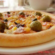 田园水果披萨