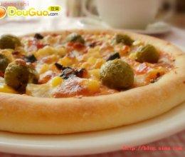 田园水果披萨的做法