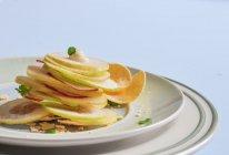 香梨薯片沙拉#丘比轻食厨艺大赛#的做法