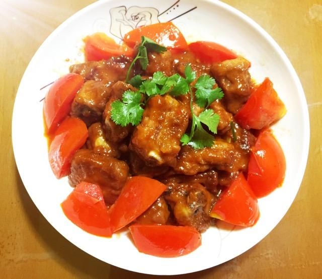 番茄汁糖醋排骨的做法_蕃茄酱糖醋排骨的做法_番茄酱酸甜排骨的做法