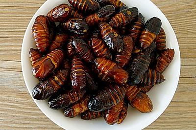 怎样炒出又酥又香的蚕蛹
