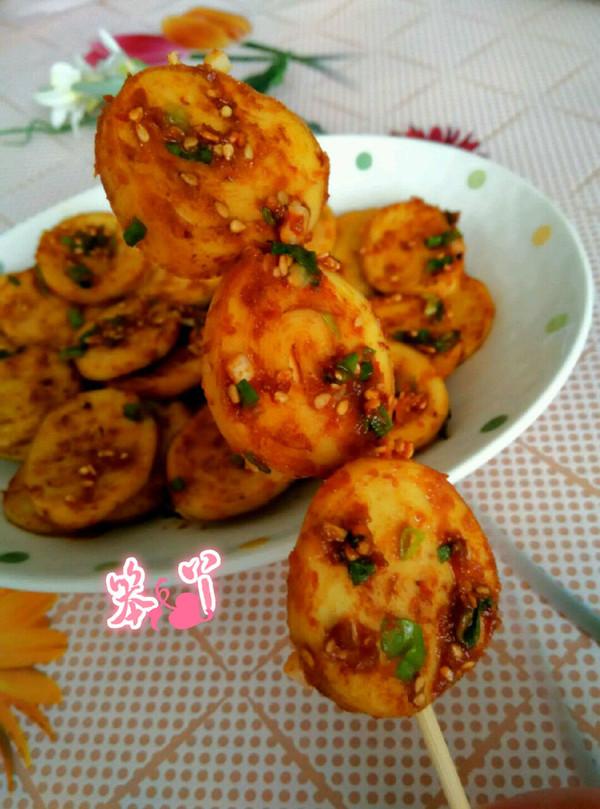 利仁电饼铛试用之香辣煎豆腐卷的做法