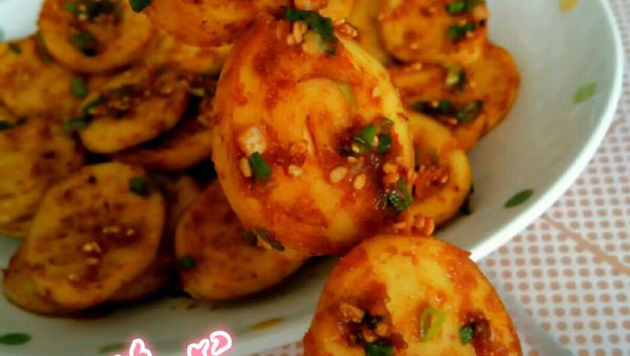 利仁电饼铛试用之香辣煎豆腐卷