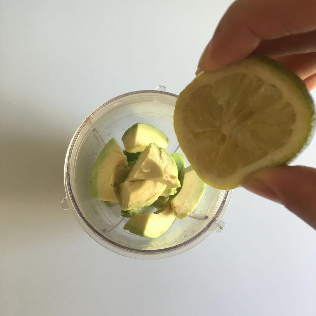 橄露貝貝橄欖油試吃#牛油果沙拉的做法_【圖解】#橄 ...