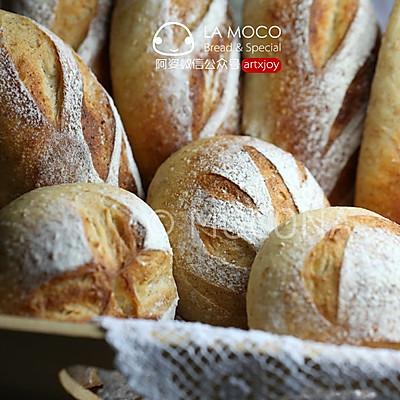 低油糖好健康-小麦胚芽软欧包