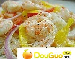 香柠芝麻虾的做法