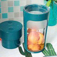 刮油清肠来一杯果醋杏子汁的做法图解3
