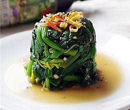 #菁选酱油试用之菠菜塔