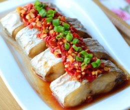 【剁椒蒸带鱼】——宜酒宜饭的的蒸菜的做法