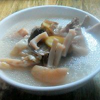 秋、冬季'三爪'润燥汤