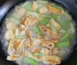 丝瓜豆腐汤的做法