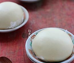 白馒头的快速制作方法(一次发酵法)的做法