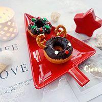 甜美可爱的圣诞甜甜圈