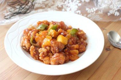 再来一碗米饭——酸甜可口的菠萝咕咾肉