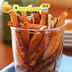 烤番薯条的做法