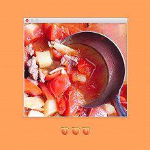牛腱子肉柿子汤