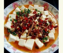 内脂椒麻蒸豆腐的做法
