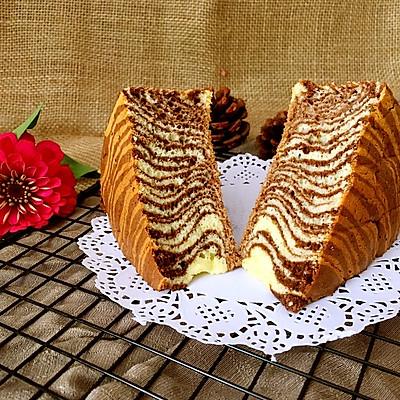 斑马纹酸奶蛋糕(8寸)