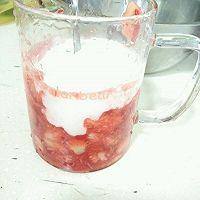 【春天草莓季】草莓酸奶冰淇淋(雪糕?的做法图解5