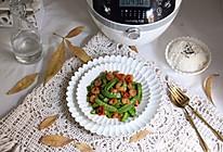 九阳炒菜机--荷兰豆炒虾仁的做法