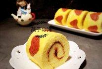 爱心草莓酱蛋糕卷的做法