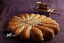 太阳花面包的做法