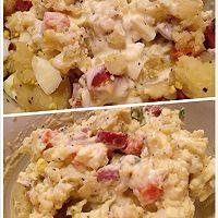 土豆沙拉小清新的做法图解8