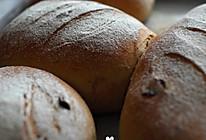 全麦蔓越莓黑糖面包的做法