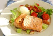 干煎三文鱼的做法