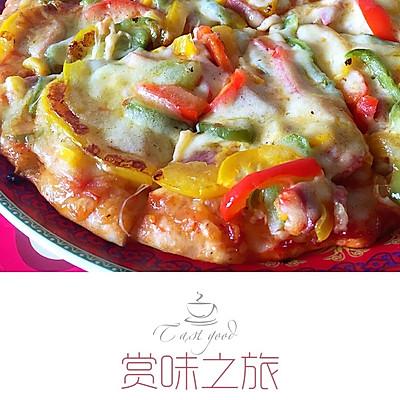 培根披萨(电饼铛版)