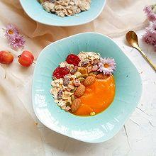 麦片南瓜糊——温暖的秋日早餐#秋天怎么吃#
