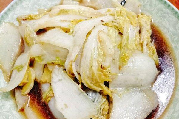 糖醋白菜的做法