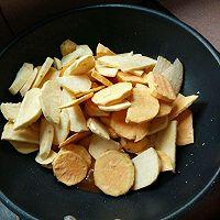 甜蜜蕃薯片的做法图解3