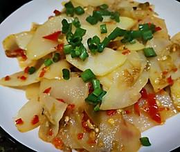 剁椒土豆片的做法