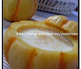 南瓜蒸蛋的做法
